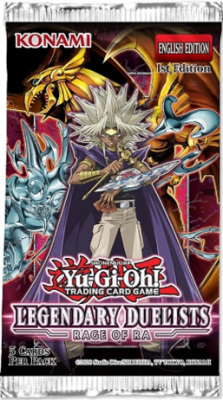 Yu Gi Oh Legendary Duelist 7 Boosterpack