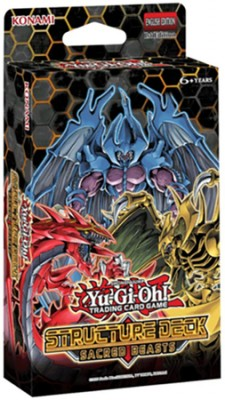 Yu Gi Oh Structure Deck Display - Sacred Beasts