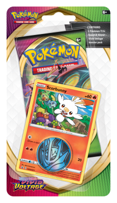 Sword & Shield Vivid Voltage Checklane Scorbunny