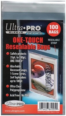 One - Touch Resealable Bags (100 bags)