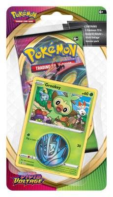 Sword & Shield Vivid Voltage Checklane Grookey