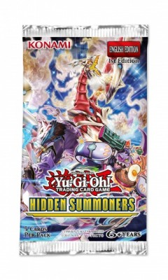 Yu-Gi-Oh - Hidden Summoners - Booster Pack