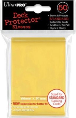 Ultra Pro Sleeves Matte Yellow (50st)