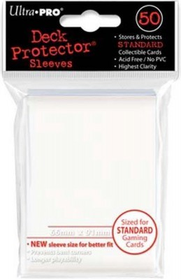 Ultra Pro Sleeves Matte White Standard (50st)