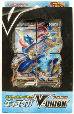 Greninja V-UNION Special Card Set