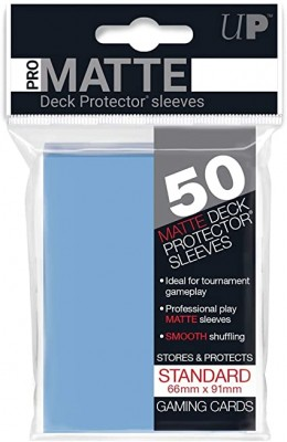 Ultra Pro Sleeves Matte Light Blue (50st)