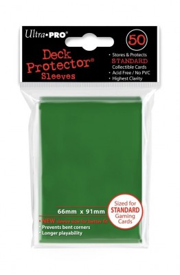 Ultra Pro Sleeves Matte Green Standard (50st)