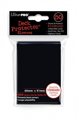 Ultra Pro Sleeves - Black