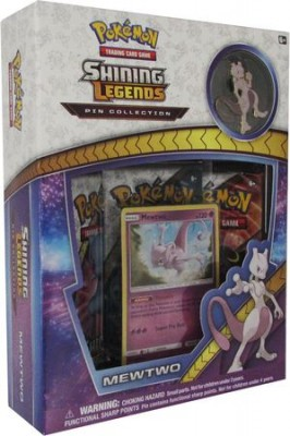 Shining Legends - Mewtwo - Pin Collection