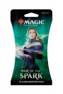 Magic War Of The Spark Sleeved Booster