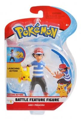 Battle Figure - Ash & Pikachu
