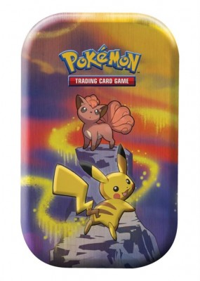 Kanto Power Mini Tin - Pikachu & Vulpix