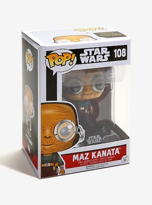 Funko POP! Star Wars Episode VII The Force Awakens - Maz Kanata Bobble Head