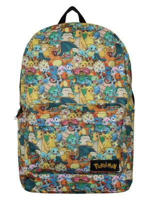 Characters All Over Printed Backpack