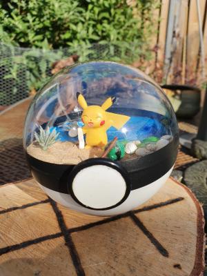 Pokemon Terra 10 cm - Pikachu 1