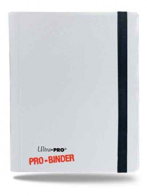 Ultra Pro Binder 9-Pocket Arctic White