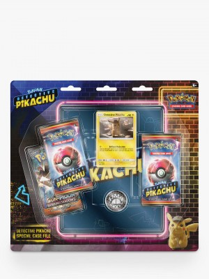 Detective Pikachu 3BB 4-Pocket Binder