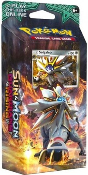 Sun & Moon Guardians Rising Theme Deck - Solgaleo