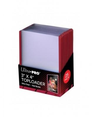 Ultra Pro Toploader Rode Rand