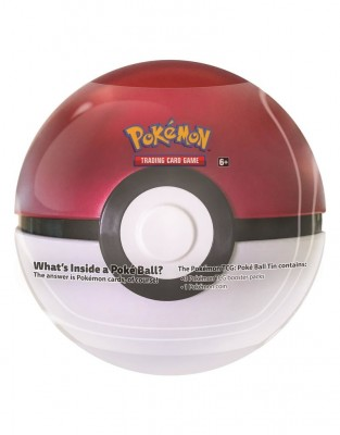 Pokeball Fall Tin 2019 - Wit Rood