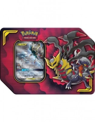 Tag Team Power Partnership Tin -  Garchomp & Giratina