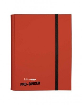 9-Pocket Ultra Pro Binder Red
