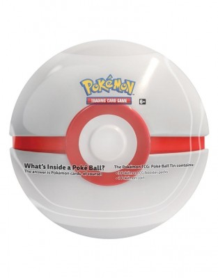 Pokeball Fall Tin 2019 - Wit