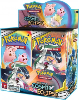 Sun & Moon Cosmic Eclipse Boosterbox