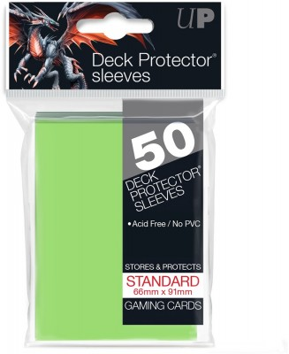 Ultra Pro Sleeves Lime Green