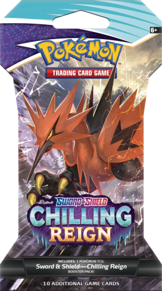 Sword & Shield Chilling Reign Sleeved Boosterpack