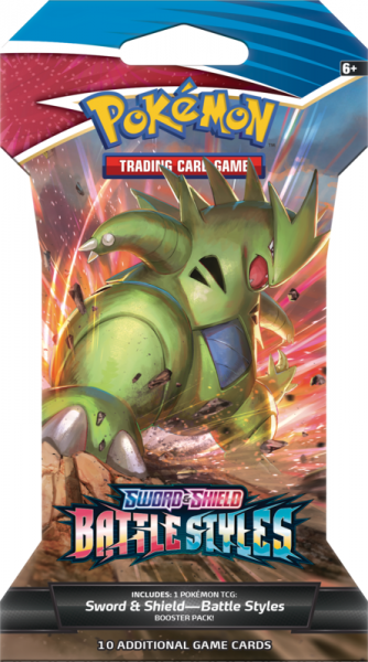 SWSH Battle Styles Sleeved Booster