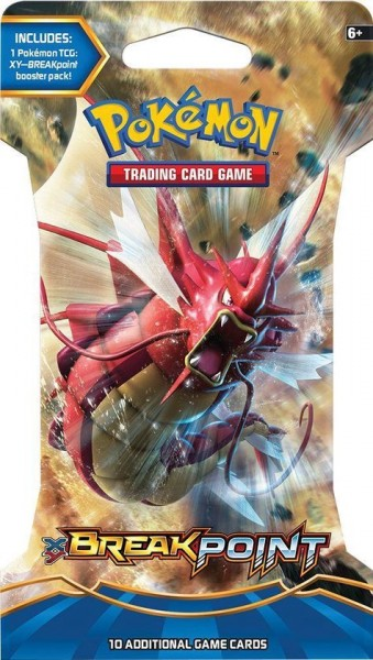 XY Breakpoint Sleeved Boosterpack