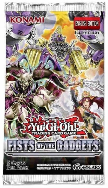 YGO - Fists of the Gadgets - Booster Pack