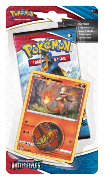 SWSH Battle Styles Checklane - Charmander