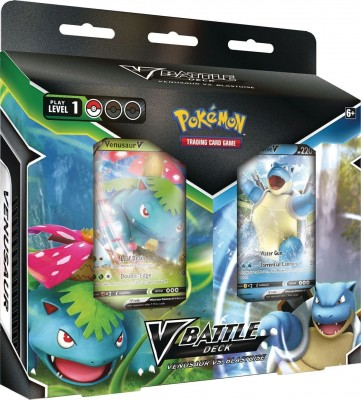 Battle V Deck Bundle - Blastoise & Venusaur