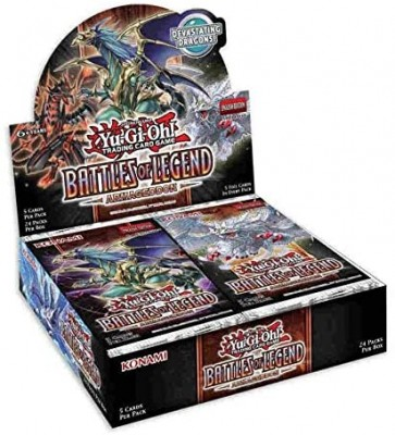 Yu Gi Oh Battles of Legend: Armageddon booster display (24 packs)