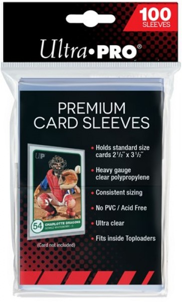 Standard Sleeves Platinum - 100 pcs