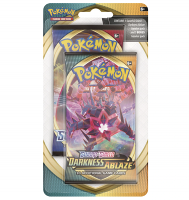 Bonus 2-booster Blister Darkness Ablaze - Rebel Clash