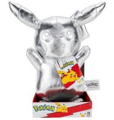 Plush Silver Pikachu 30cm