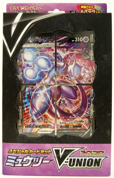 Mewtwo V-UNION Special Card Set