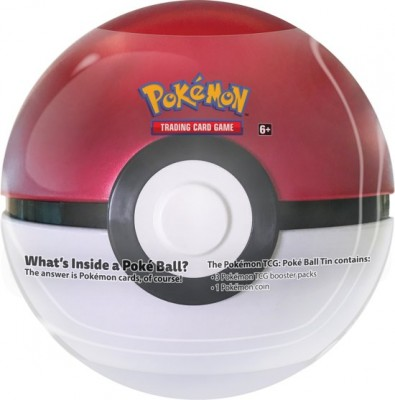 Pokeball Tin 2019 Rood - Wit