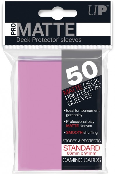 Ultra Pro Sleeves Matte Pink (50st)