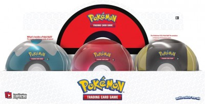 Pokeball Tin Q1 2020 - Rood Wit