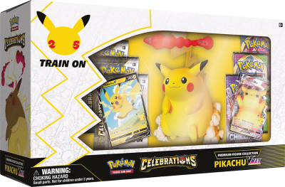 25th Celebrations Premium Figure Collection - Pikachu VMAX