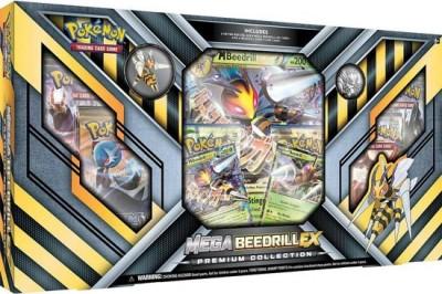 Mega Beedrill EX Premium Collection Box