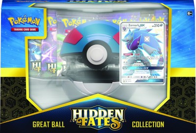 Hidden Fates Pokeball Collection - Shiny Zoroark GX