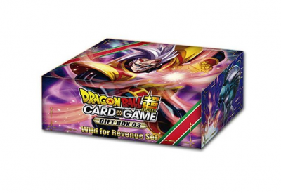 DragonBall Super Card Game - Gift Box 3 Wild for Revenge