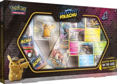Detective Pikachu On The Case Figure Collection
