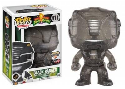 Funko POP! TV Power Rangers - Black Ranger Morphing Vinyl Figure 10cm