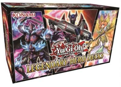 Yu-Gi-Oh - Legendary Hero Decks